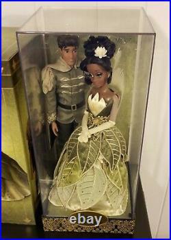 Disney Princess & The Frog Tiana Naveen Limited Edition Designer Dolls