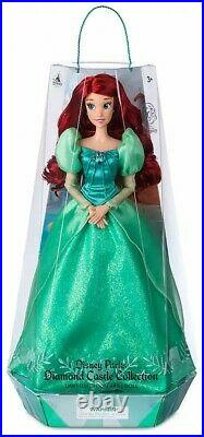 Disney Princess The Little Mermaid Diamond Castle Collection Ariel 16-Inch Doll