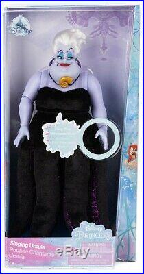 Disney Princess The Little Mermaid Ursula 11.5-Inch Singing Doll