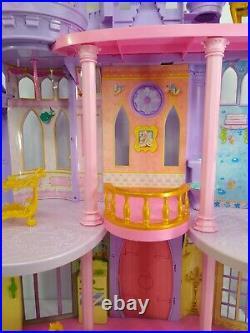 Disney Princess Ultimate Dream Castle Fairy Tale Dollhouse Barbie doll House