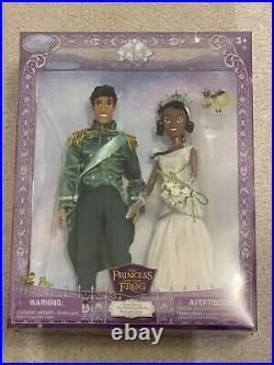 Disney Princess & the Frog Princess Tiana & Prince Naveen Royal Wedding Doll Set