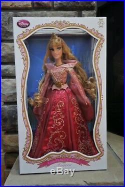 Disney Sleeping Beauty Aurora Princess 17 Limited Doll Briar Rose Pink Dress