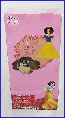 Disney Snow White, 7 Dwarfs, Prince, Evil Queen Classic Collection Dolls Lot NIB