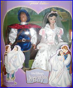 Disney Snow White and Prince Wedding Gift Set Special Edition 2005