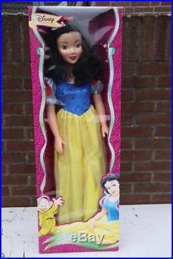 Disney Snow white Snowwhite HUGE DOLL Europe only RARE new in box SIMBA