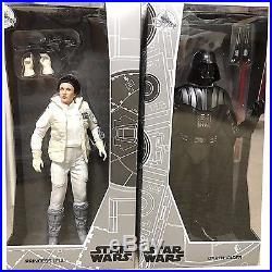 Disney Star Wars 2017 D23 Exclusive Princess Leia & Darth Vader Doll Set LE