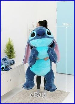 Disney Stitch 120cm(47.2inch) Lilo and Stitch Lying Big Size Doll