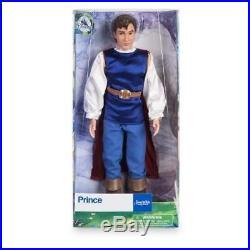 Disney Store 10 Prince Classic 12 Doll Gift Set Lot Beast Aladdin Eric Princess