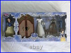 Disney Store 2013 ARIEL and SISTERS Mini Dolls + 4 Princess WARDROBE Play Sets