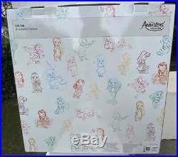 Disney Store 2018 Animators Collection 5 Mini Doll Gift Set of 13 Princess New