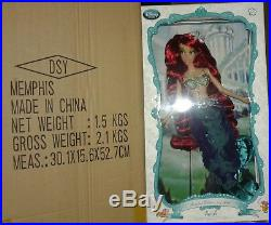 Disney Store ARIEL The little mermaid LIMITED EDITION DOLL LE of 6000 Princess