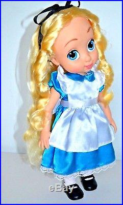 Disney Store Alice In Wonderland Animators Doll, Perfect and Gift Wrapped