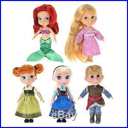 Disney Store Animator Collection Toddler Doll Disney Character Princess 15 Set 6