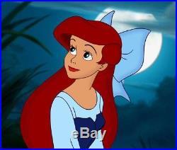 Disney Store Animator Little Mermaid Ariel Doll, in Blue Dress & Hair Bow, Gift