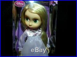 Disney Store Animator's Rapunzel Doll 1st Edition Tangled TINSEL HAIR 2010 Rare