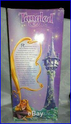Disney Store Animator's Rapunzel Doll 1st Edition Tangled TINSEL HAIR RARE