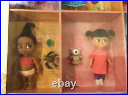 Disney Store Animators Collection Mini Doll Gift Set With Pets NEW
