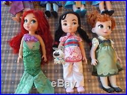 Disney Store Animators Toddler Princess Dolls Animation