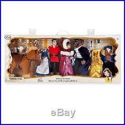 Disney Store Art of Belle Deluxe Doll Set 25th Anniversary Beauty & Beast Gaston