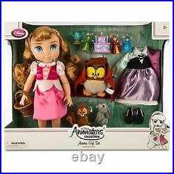 Disney Store Aurora Doll Gift Set Disney Animators' Collection 16'