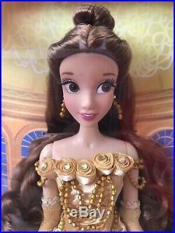 Disney Store BELLE LIMITED EDITION DOLL 17 NEW 1 of 5000 Princess Beauty Beast