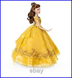 Disney Store Belle Limited Edition Doll Live Action Film movie Beauty Beast NEW
