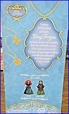 Disney Store Brave King Fergus Doll Father of Princess Merida NRFB Rare