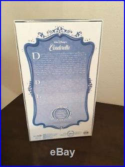 Disney Store CINDERELLA Limited Edition Doll LE 5000 Classic Princess 17 NIB