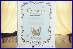 Disney Store Cinderella Platinum Wedding Dress 17 Limited Edition #481 (of 500)