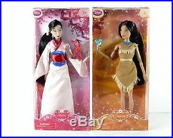 Disney Store Classic Princess Collection 11 Dolls and friendly figurines 2016