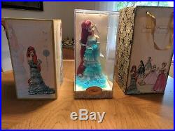 Disney Store Designer Collection Princess ARIEL Doll Limited Edition