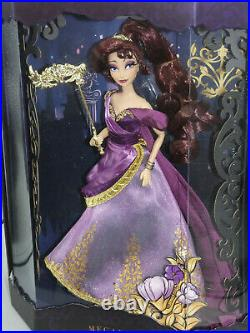 Disney Store Designer Midnight Masquerade Meg MEGARA Doll Limited Edition BNIB