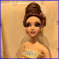 Disney Store Designer Princess BELLE Doll Limited Edition New Beauty & the Beast