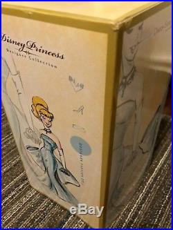 Disney Store Designer Princess CINDERELLA Doll Limited Edition New See Descriptn