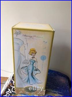Disney Store Designer Princess Doll Cinderella MIB Limited Edition 8000 COA