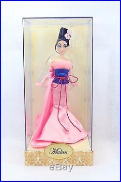 Disney Store Designer Princess Doll MULAN LE 6000 Dolls