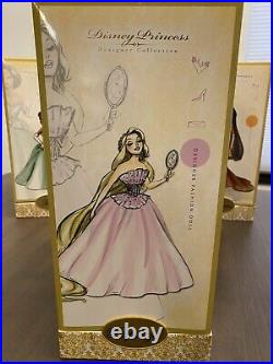 Disney Store Designer Princess Doll RAPUNZEL 1st Limited Edition LE 6000