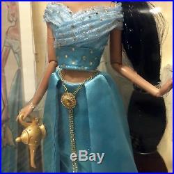 Disney Store Designer Princess JASMINE Doll Limited Edition New