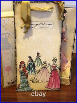 Disney Store Designer Princess Mulan Limited Edition Doll