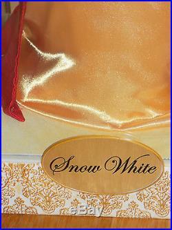 Disney Store Designer Princess Snow White Doll Limited Edition 4742 of 6000
