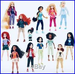 Disney Store Disney Princess & Vanellope Doll Set, Wreck-It Ralph 2 Brand New