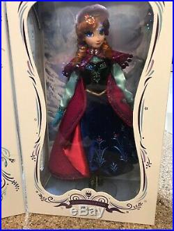 Disney Store ELSA Anna CORONATION Princess QUEEN Doll LIMITED FROZEN 2 II 5000