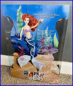Disney Store Enchanted Seasons SUMMER SEAS The Little Mermaid Ariel Barbie Doll