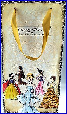 Disney Store Exclusive Princess Designer Collection Fashion Doll Belle 2011 NEW