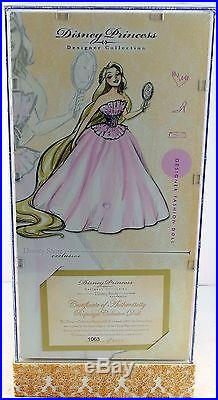 Disney Store Exclusive Princess Designer Collection Fashion Doll Rapunzel 2011