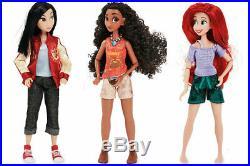 Disney Store Exclusive Wreck-It Ralph 2 Comfy Princesses & Vanellope New
