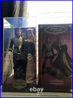 Disney Store Fairytale Designer Limited Edition Briar Rose Aurora & Phillip Doll