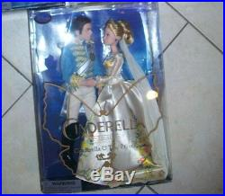 Disney Store Film Collection Cinderella Live Action Doll & Prince