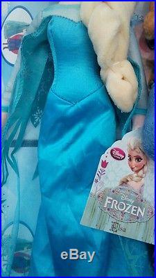 """BRAND NEW Disney Store Frozen 20/"""" inches Elsa Plush Soft Doll"""
