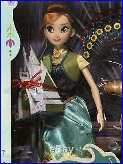 Disney Store Frozen Fever Princess Anna Deluxe Singing Doll NIB